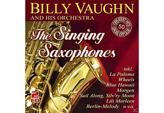 Billy Vaughn And His Orchestra - The Singing Saxophones-50 Greatest Hits - (CD)