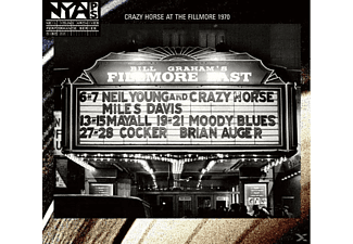 Neil Young, Neil & Crazy Horse Young - Live At The Fillmore East 1970 - (CD)