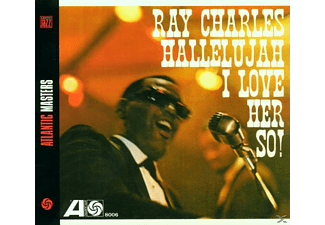 Ray Charles - Hallelujah/I Love Her So - (CD)