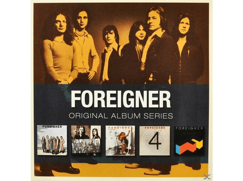 Foreigner - ORIGINAL ALBUM SERIES [CD]