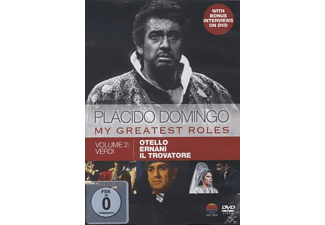 Plácido Domingo - My Greatest Roles Vol.2 - (DVD)