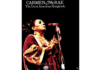 Carmen McRae - THE GREAT AMERICAN SONGBOOK - (CD)