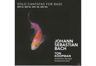 Ton Koopman, Ton & The Amsterdam Baroque Orchestra Koopman - Solo Cantatas For Bass - (CD)