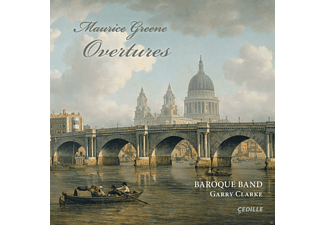 Baroque Band, David Schrader - Overtures [CD]
