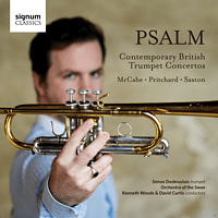 Orchstra Of The Swan, Simon Desbruslais - Psalm-Contemporary British Trumpet Concertos [CD]