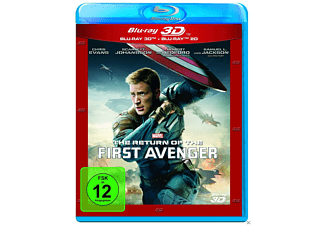 The Return of the First Avenger (3D & 2D BD Edition) - (3D Blu-ray (+2D))