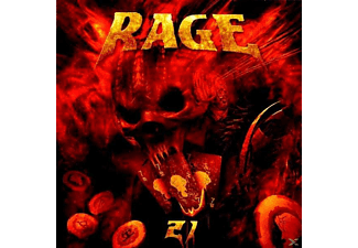 Rage - Twenty One (21) - (CD)