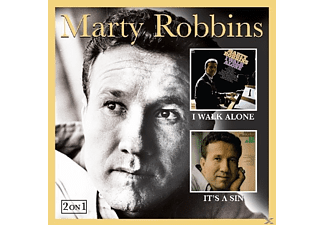 Marty Robbins - I Walk Alone & It's A Sin - (CD)