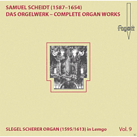 Volker Janig - Scheidt Organ Works Vol.9 [CD]