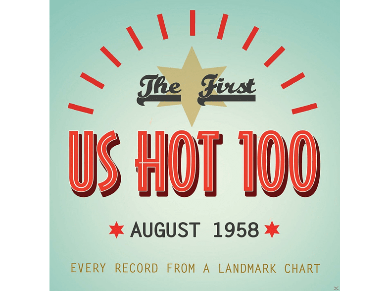VARIOUS - The First Us Hot 100 August 1958 [CD]