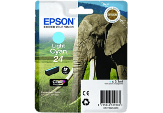 EPSON Original Tintenpatrone Elefant Light Cyan (C13T24254010)