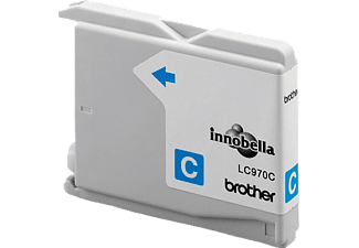BROTHER Original Tintenpatrone Cyan (LC-970C)