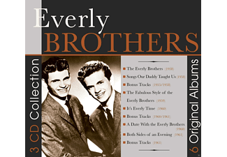 The Everly Brothers - 6 Original Albums [CD]