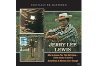 Jerry Lee Lewis - Who's Gonna Play This Old Piano/Sometimes A Memory [CD]