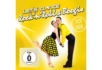 VARIOUS - Rock'n Roll & Boogie - Let's Dance - (CD + DVD)