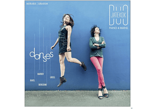 Duo Jatekok - Danses - (CD)