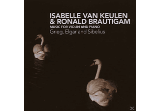 Isabelle Van Keulen, Ronald Brautigam, Isabelle Van & Ronald Brautigam Keulen - Music For Violin And Piano - (CD)