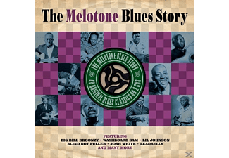 VARIOUS - Melotone Blues Story - (CD)