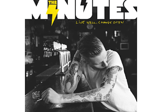 The Minutes - Live Well, Change Often - (CD)