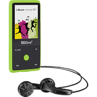 TREKSTOR 79624 i.Beat move BT Mp3-Player (8 GB, Mamba Grün)