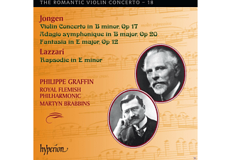 Royal Flemish Philharmonic, Philippe Graffin - Romantic Violin Concerto Vol.18 - (CD)