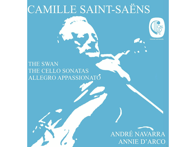 Andre Navarra, Annie D' Arco - The Swan/Sonata For Violoncello & Piano Nr.Op.32 [CD]