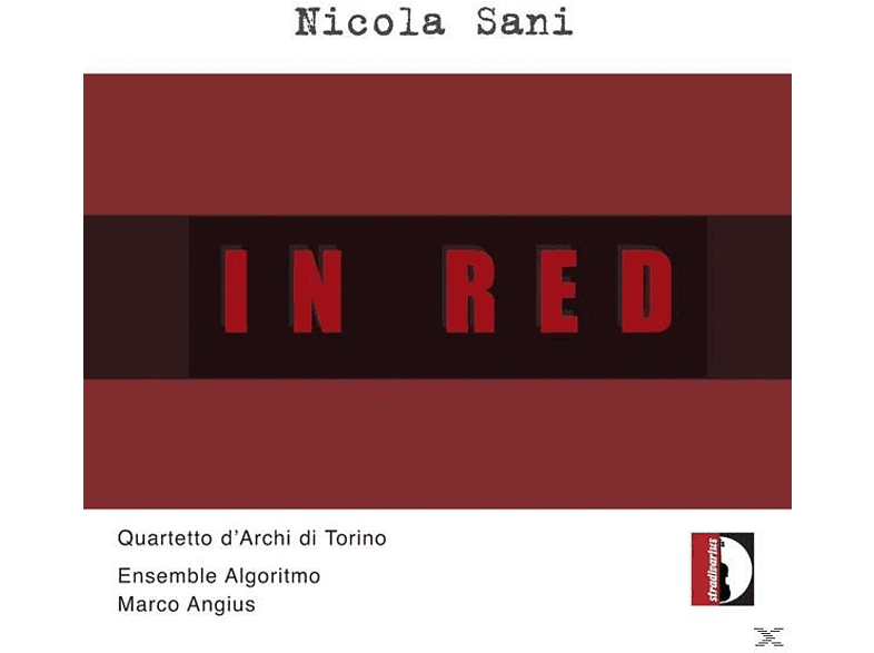 Angius/Quartetto d'Archi di Torino/Ensemble Algori - In Red [CD]
