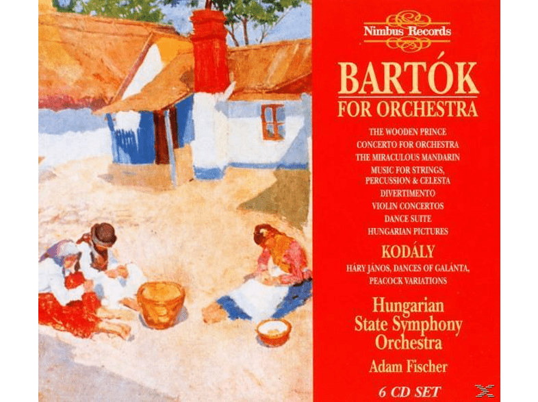 Adam Fischer, Hungarian State Symphony Orchestra - Bartok For Orchestra [CD]