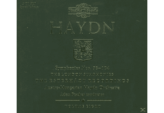 Adam Fischer Austro-hungarian Haydn Orchestra - Haydn The London Symphonies - (CD)