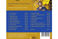 Andrei V. Malutin - Sacred Russian Choral Works [CD]
