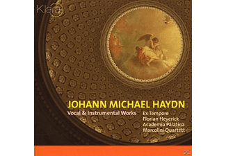 Florian Heyerick - VOCAL & INSTRUMENTAL WORKS - (CD)