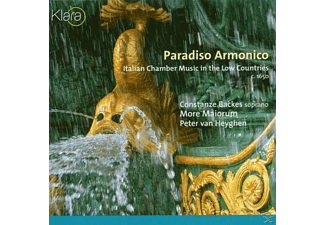 BACKES/MORE MAIORUM, Van Heygen/Backes/More Maiorum - Paradiso Armonico - (CD)