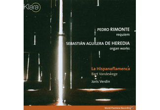 La Hispanoflamenca - REQUIEM/ORGAN WORKS - (CD)