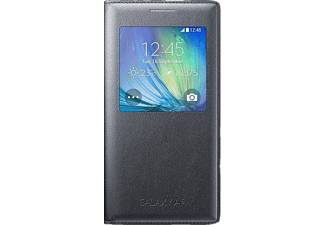 SAMSUNG S-View Cover Galaxy A5 Charcoal Black - (EF-CA500BCEGWW)
