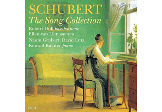 Robert Holl, David Lutz, Naum Grubert, Konrad Richter, Ellen Van Lier - The Song Collection - (CD)