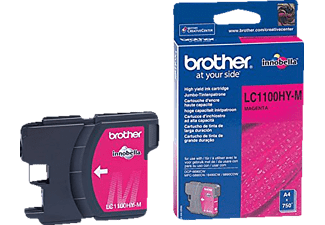 BROTHER Original Tintenpatrone Magenta (LC-1100HYM)