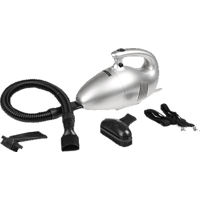 PRINCESS 332757 Turbo Tiger Compact Vacuum Cleaner (ohne Beutel, Permanenter Filter, Silber)