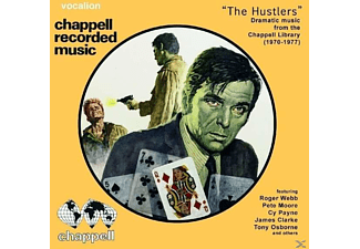 Roger Webb, Pete Moore, James Clarke, Tony Osborne, Cy Payne - The Hustlers-Dramatic Music From - (CD)