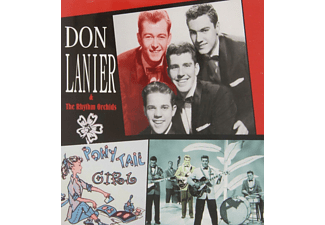 Don Lanier, The Rhythm Orchids - Pony Tail Girl [CD]