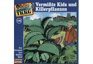 SONY MUSIC ENTERTAINMENT (GER) TKKG 105: Vermisste Kids und Killerpflanzen