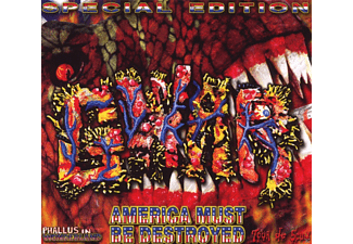 Gwar - America Must Be Destroyed - (CD + DVD)