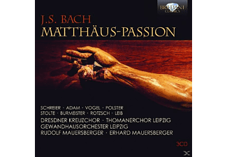 VARIOUS - Matthäus-Passion [CD]