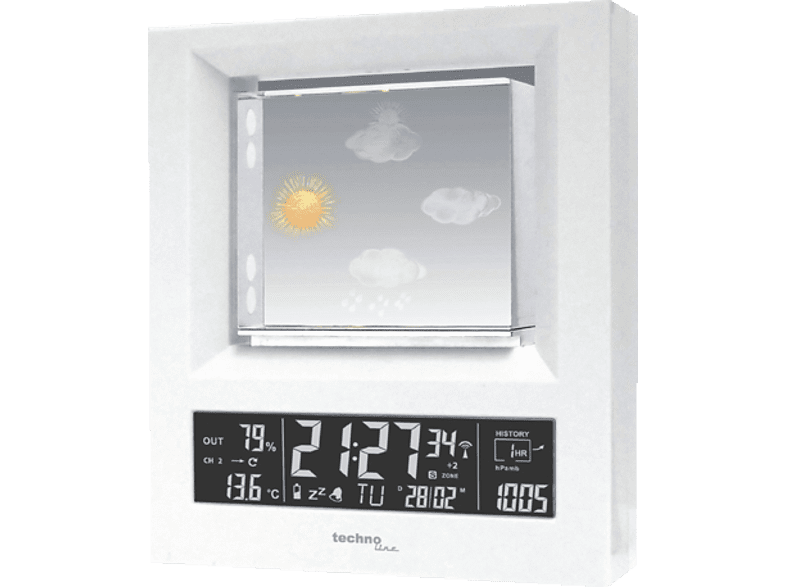 TECHNOLINE  WS 6620 Wetterstation | 04029665066202