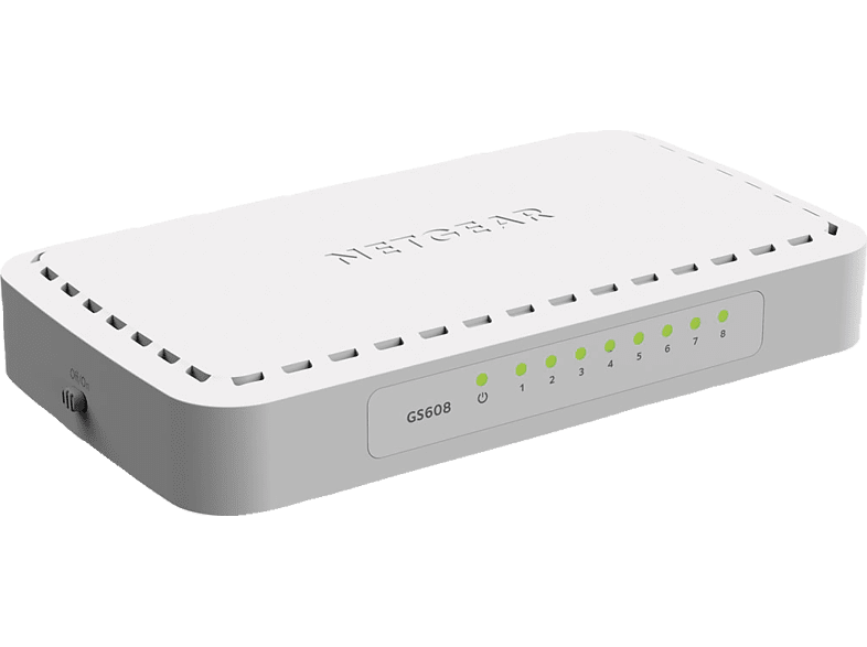 Switch NETGEAR GS 608-400PES 8