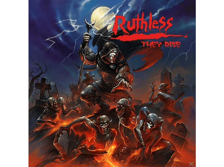 Ruthless - They Rise [CD]