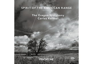 Carlos Kalmar, Oregon Symphony - Spirit Of The American Range - (SACD Hybrid)
