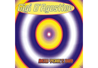 Gigi D'Agostino - New Year's Day [Maxi Single CD]