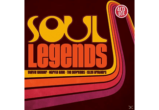 VARIOUS - Soul Legends - (CD)