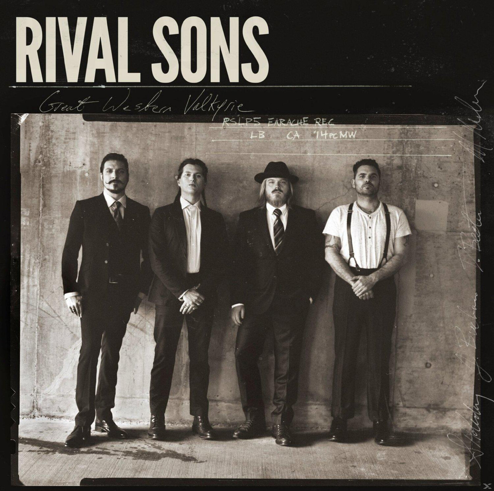 Rival Sons - Great Western Valkyrie (Double Vinyl Gatefold, Bla [LP + Download]