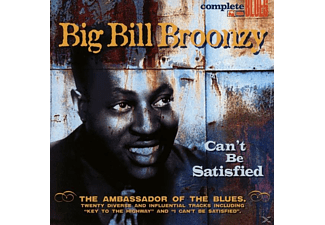 Big Bill Broonzy - Can't Be Satisfied - (CD)